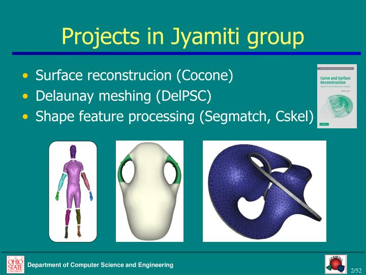 Projects in jyamiti group