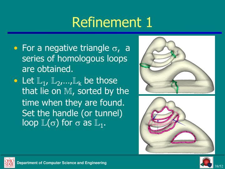 Refinement 1