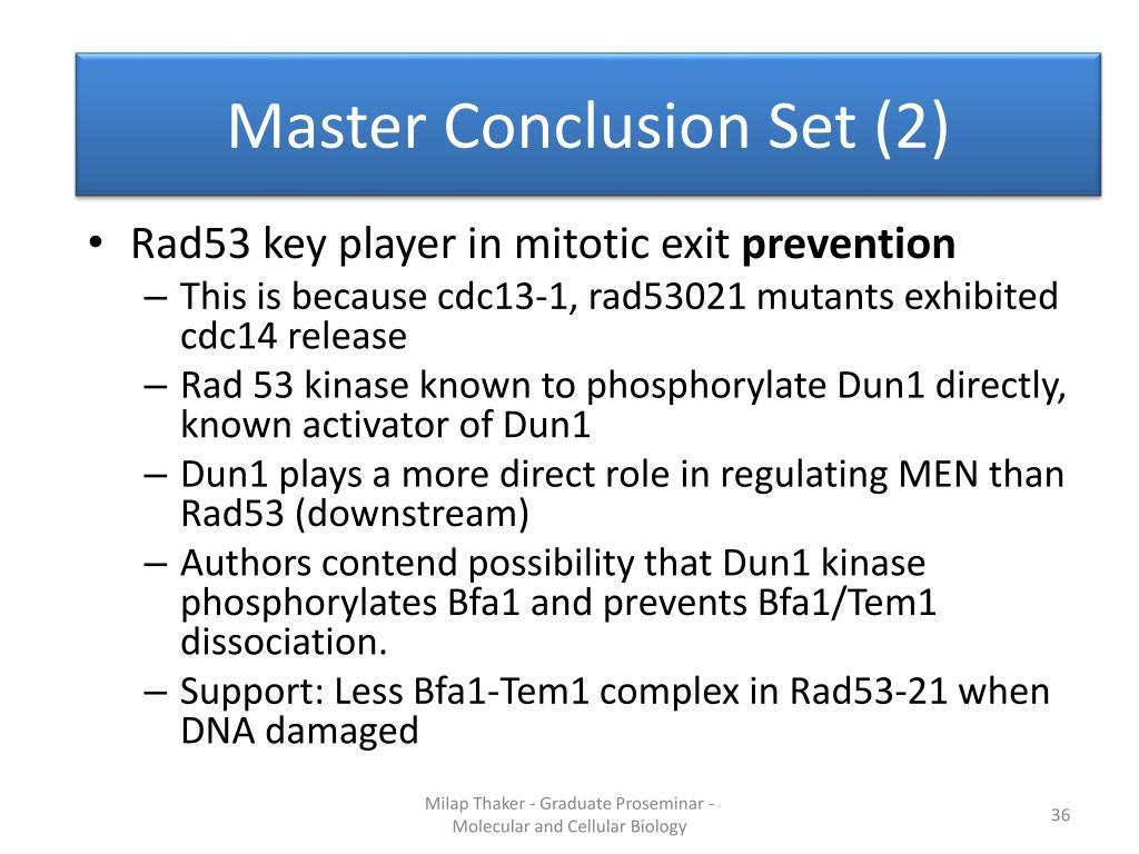 Master Conclusion Set (2)