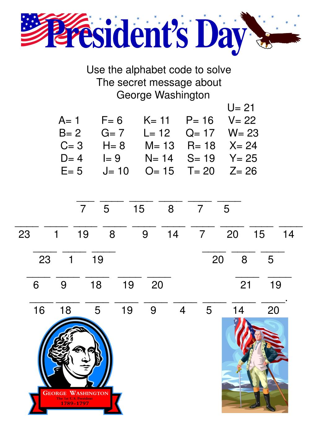Use the alphabet code to solve