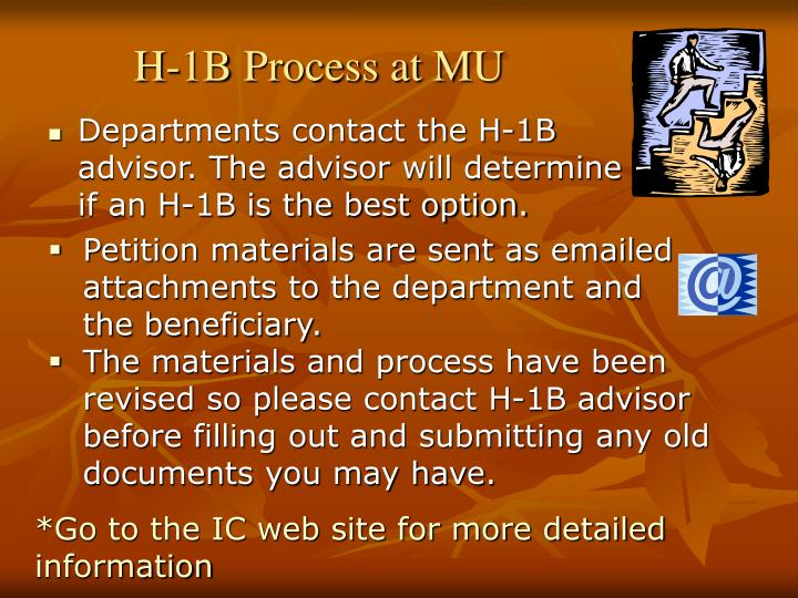 H-1B Process at MU