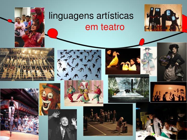 linguagens artísticas