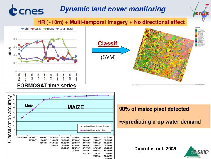 Dynamic land cover monitoring