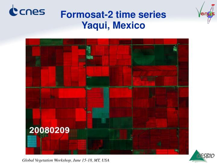 Formosat-2 time series