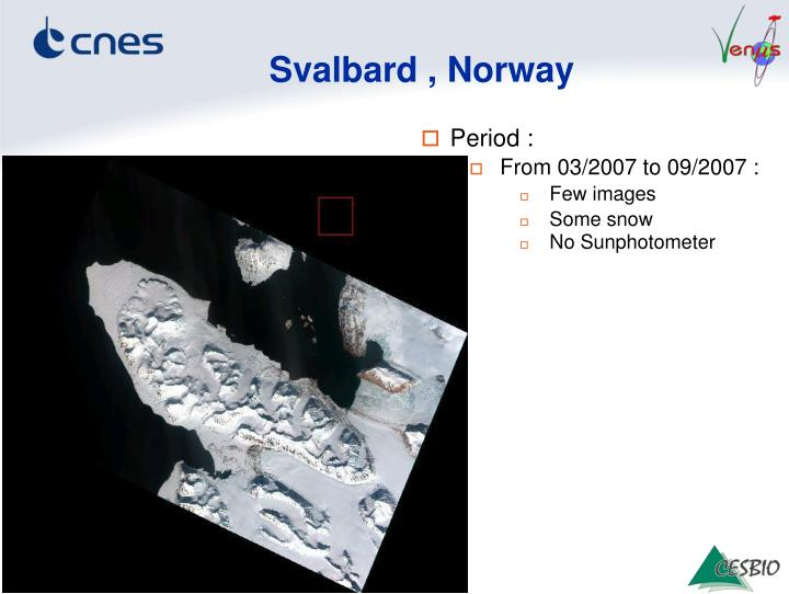 Svalbard , Norway