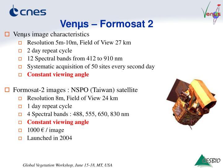Venµs – Formosat 2