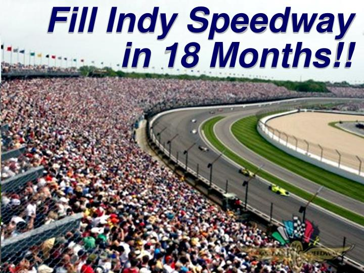 Fill Indy Speedway
