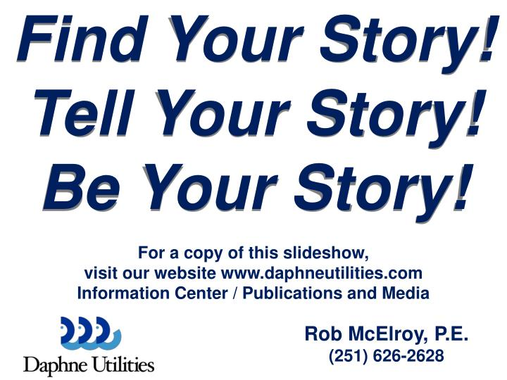 Find Your Story!