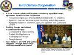 gps galileo cooperation