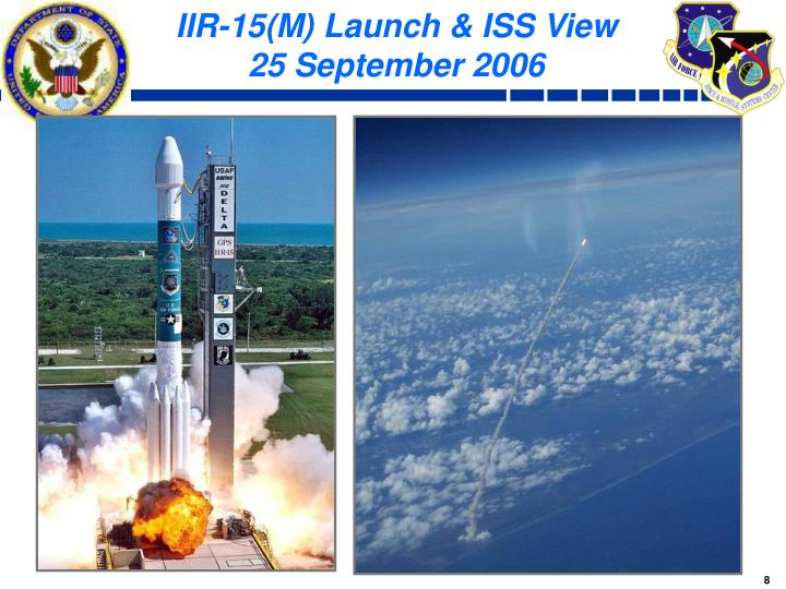 IIR-15(M) Launch & ISS View