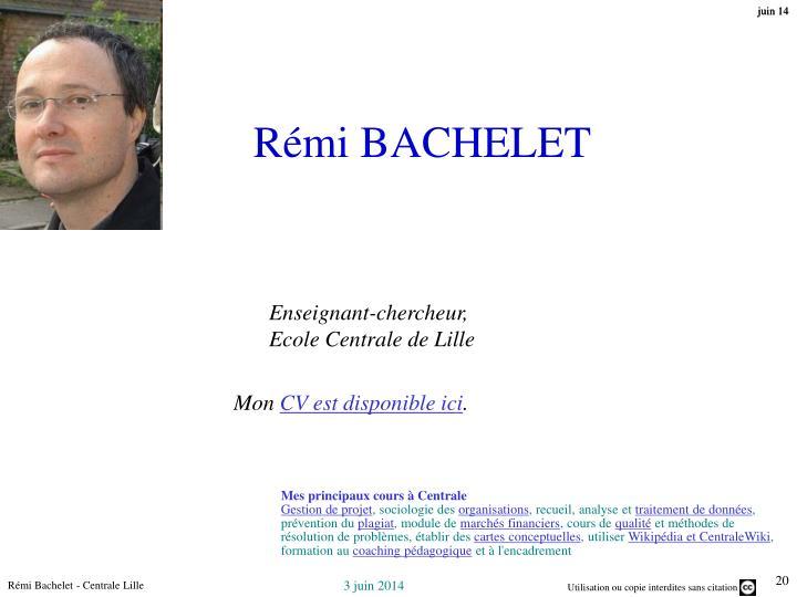 Rémi BACHELET