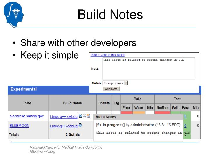 Build Notes