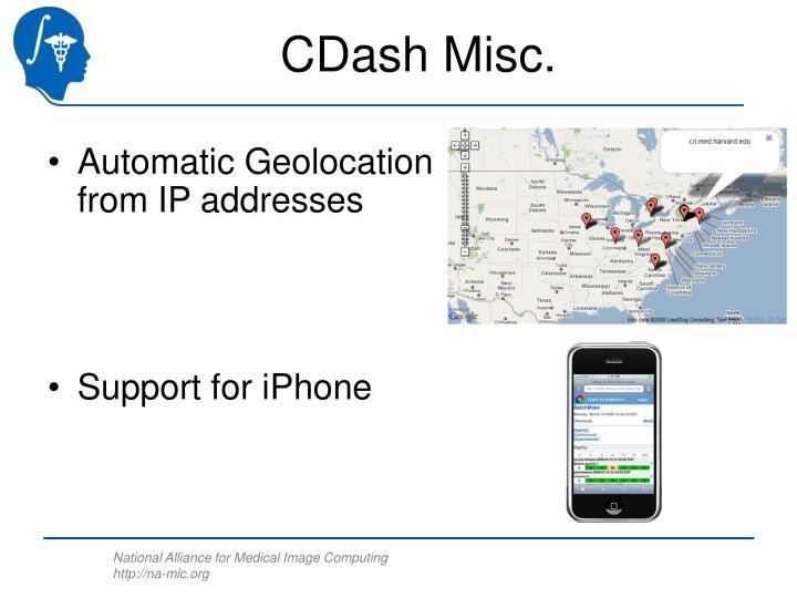 CDash Misc.