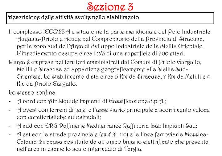 Sezione 3