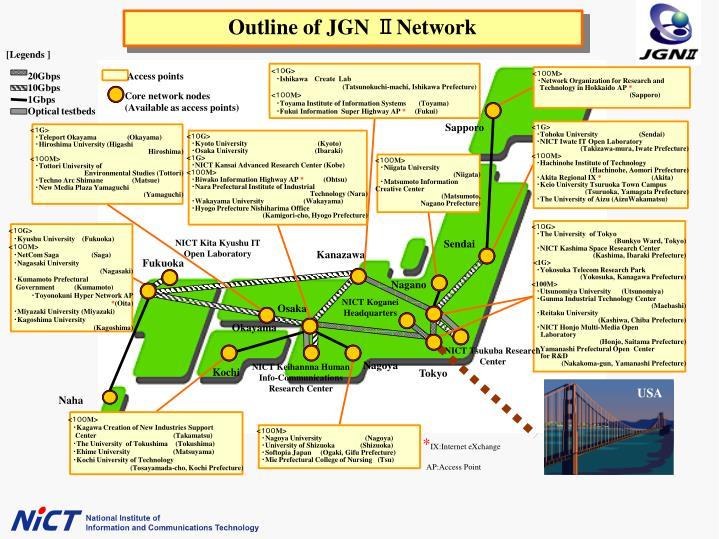 Outline of JGN