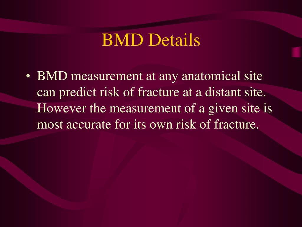 BMD Details