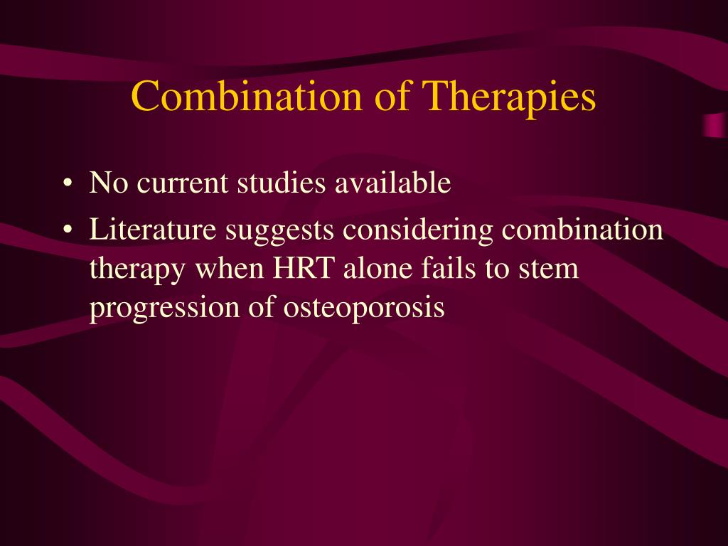 Combination of Therapies
