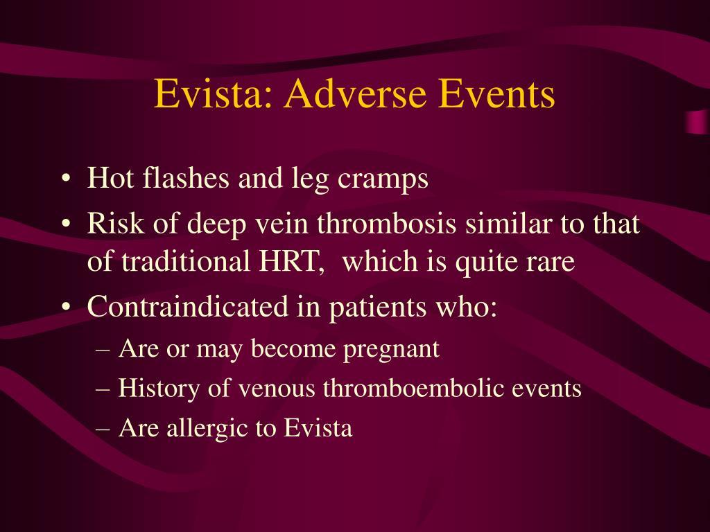Evista: Adverse Events