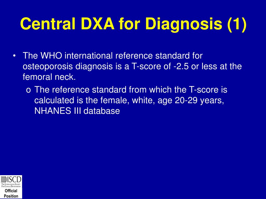 Central DXA for Diagnosis (1)