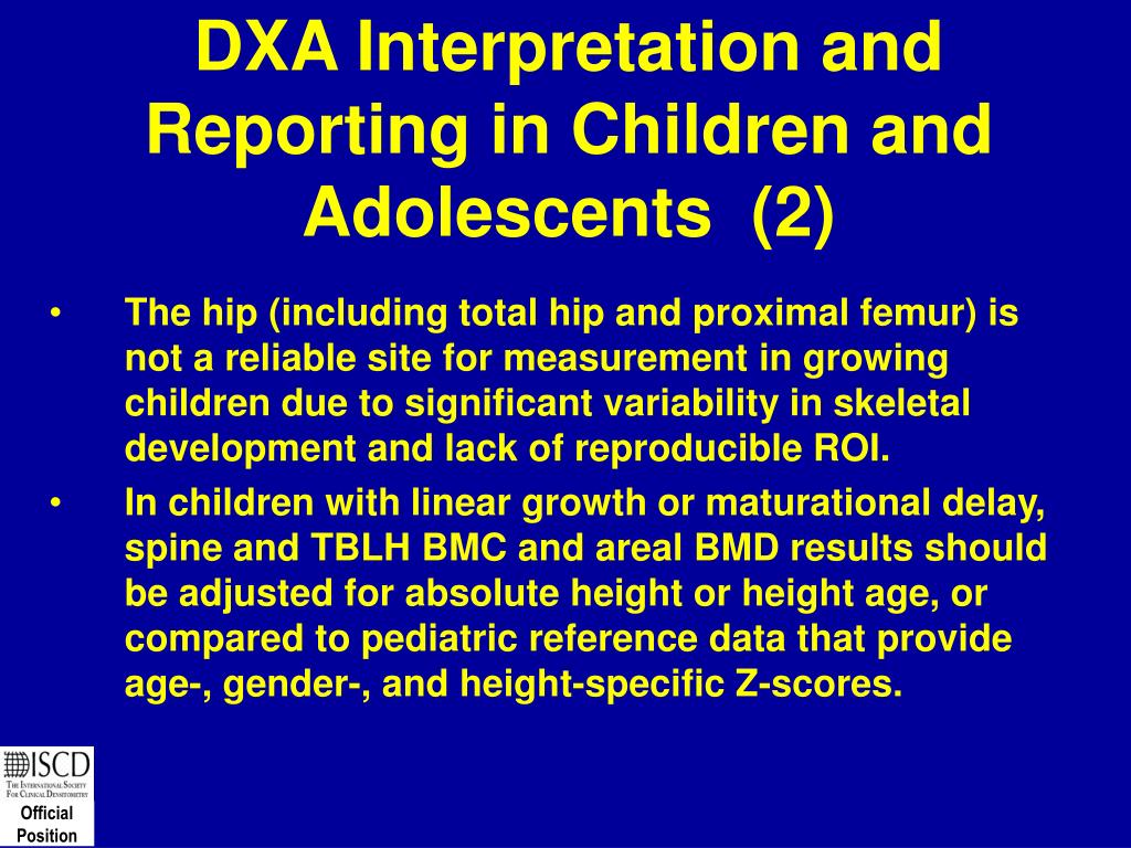 DXA Interpretation and Reporting in Children and Adolescents  (2)