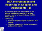 dxa interpretation and reporting in children and adolescents 8