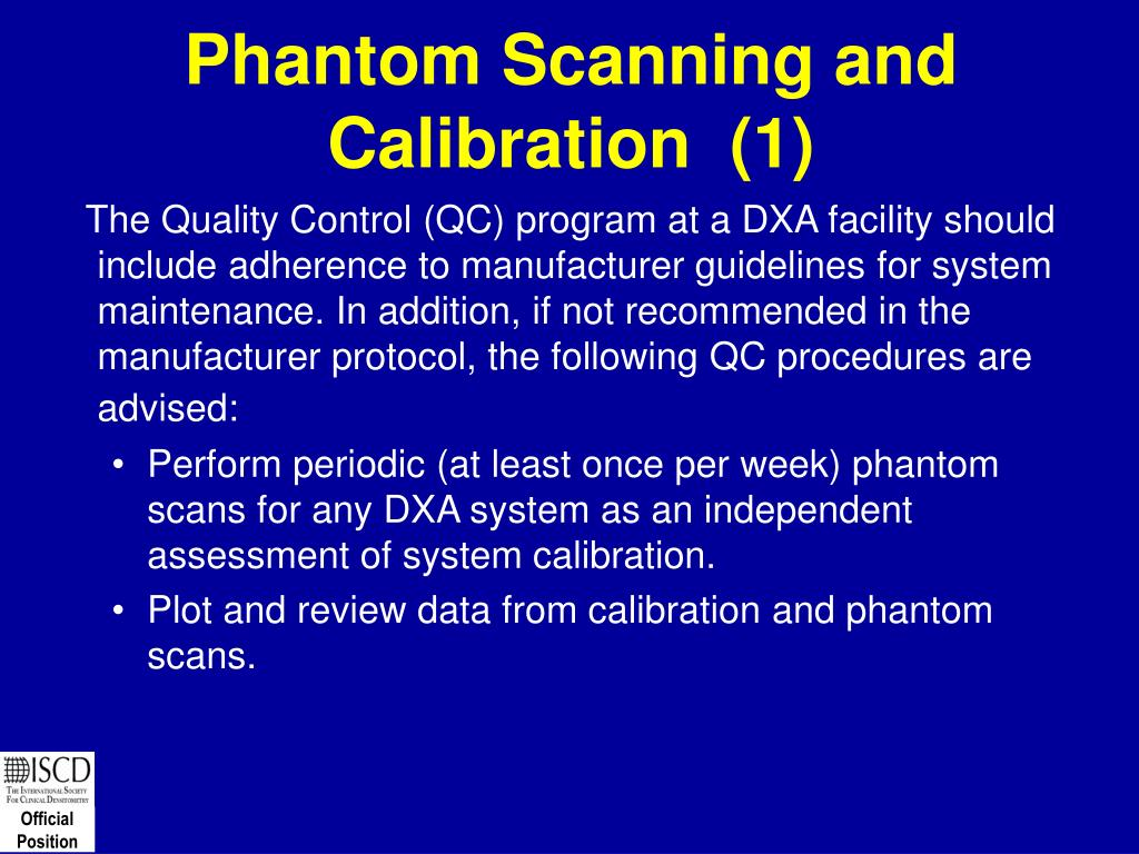 Phantom Scanning and Calibration  (1)