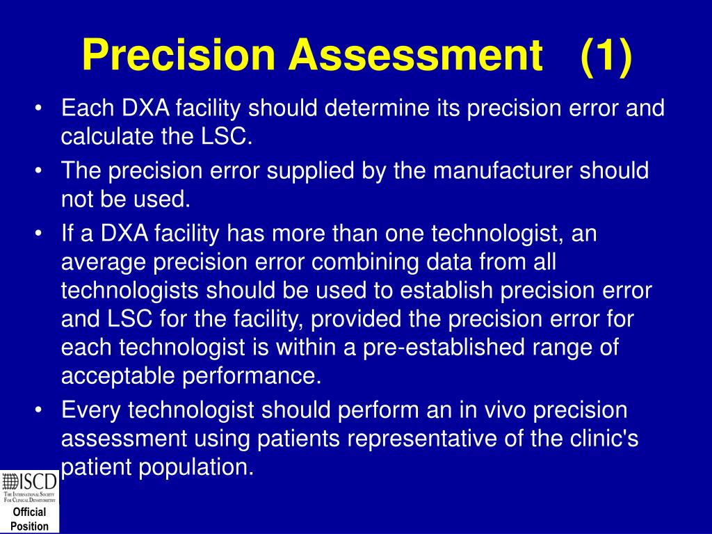 Precision Assessment   (1)