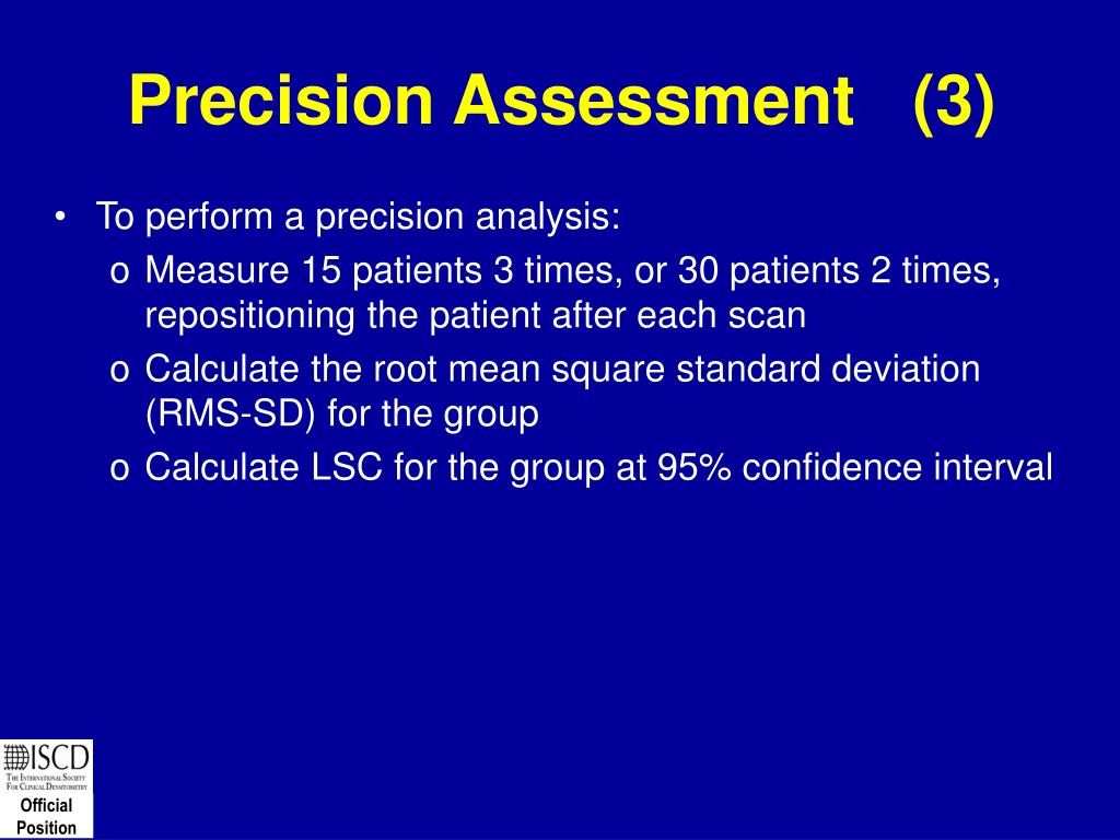 Precision Assessment   (3)