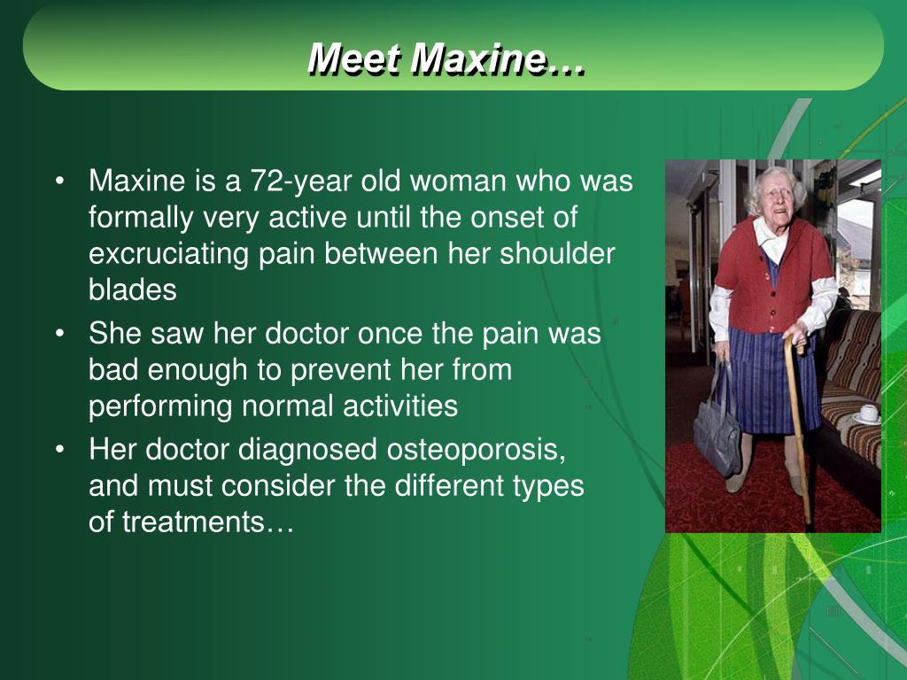 Meet Maxine…