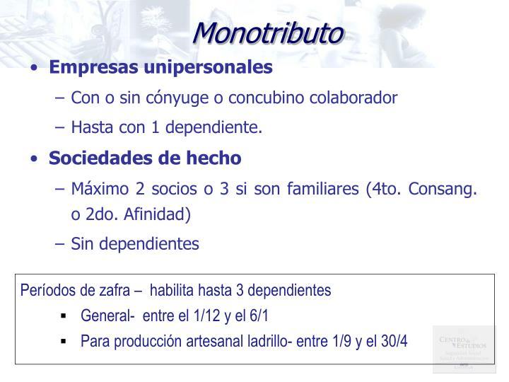 Monotributo