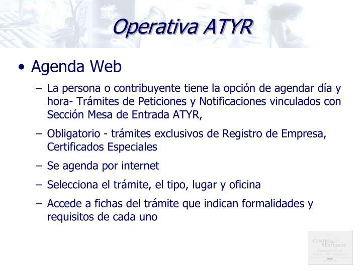Operativa ATYR