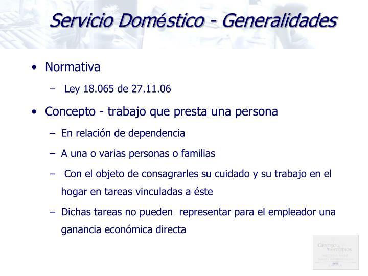 Servicio Dom