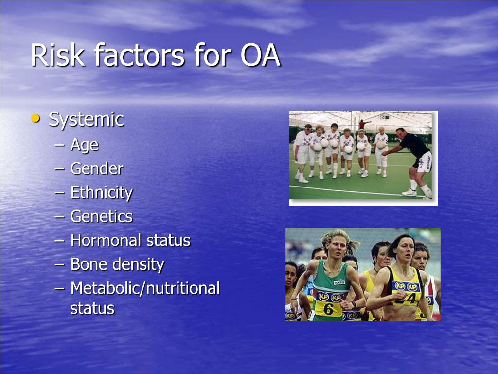 Risk factors for OA