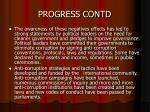 progress contd