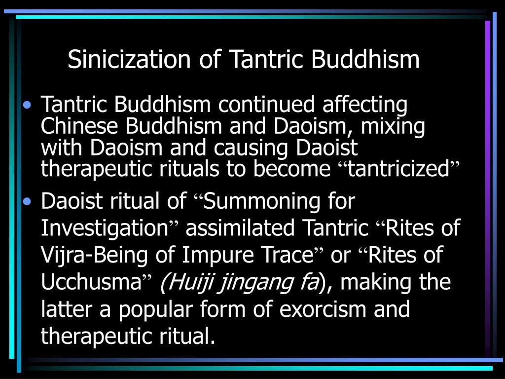 Sinicization of Tantric Buddhism