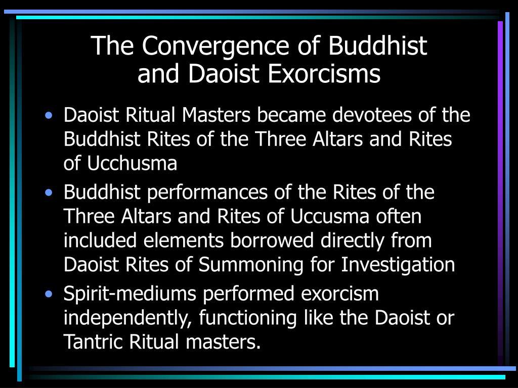 The Convergence of Buddhist