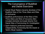 the convergence of buddhist and daoist exorcisms
