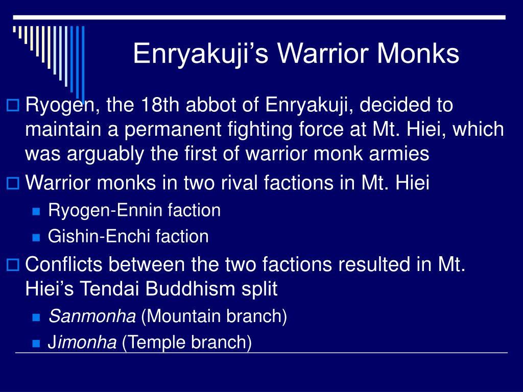 Enryakuji's Warrior Monks