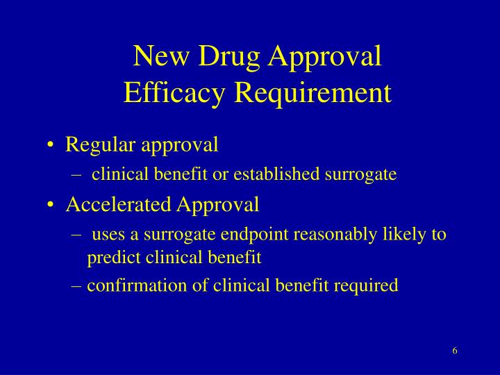 New Drug Approval