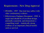 requirements new drug approval1