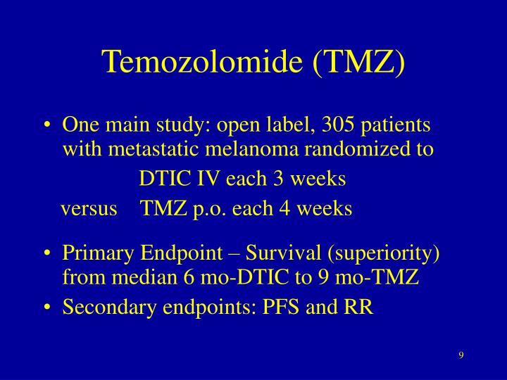 Temozolomide (TMZ)