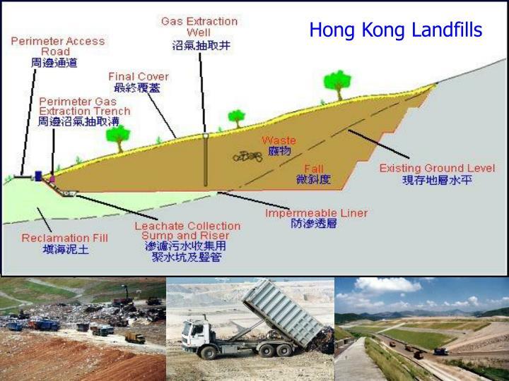 Hong Kong Landfills