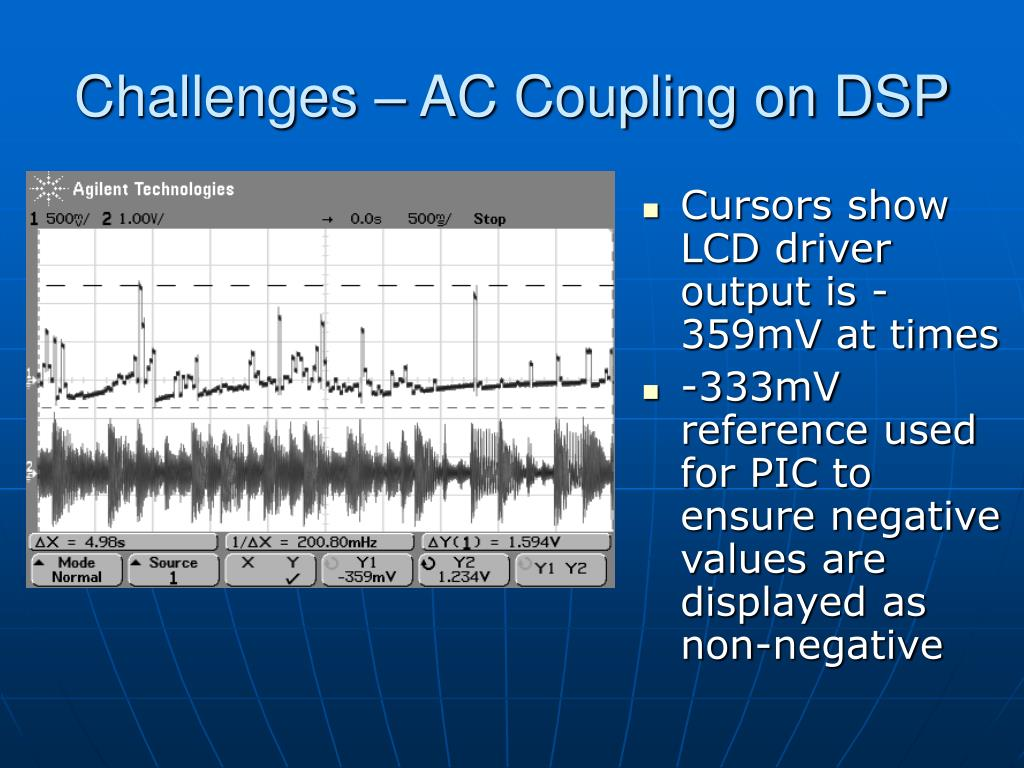 Challenges – AC Coupling on DSP