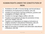 human rights under the constitution of india2