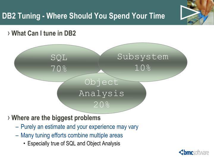 Db2 tuning where should you spend your time