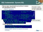 sql fundamentals dynamic sql