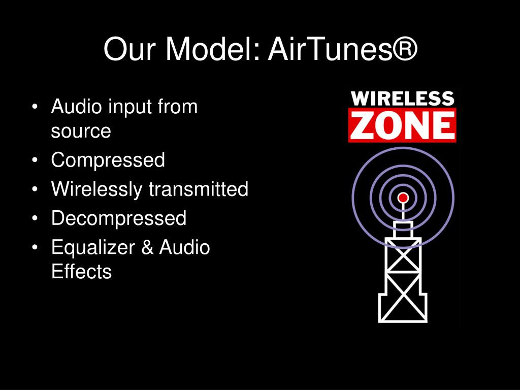 Our Model: AirTunes®