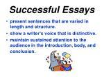 successful essays2