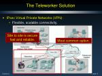 the teleworker solution2
