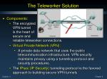 the teleworker solution7